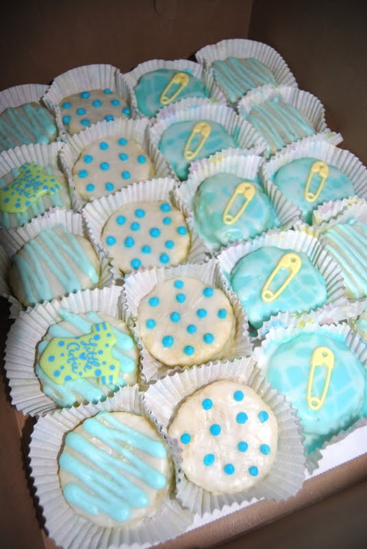 Baked By Ash Baby Shower Petit Fours