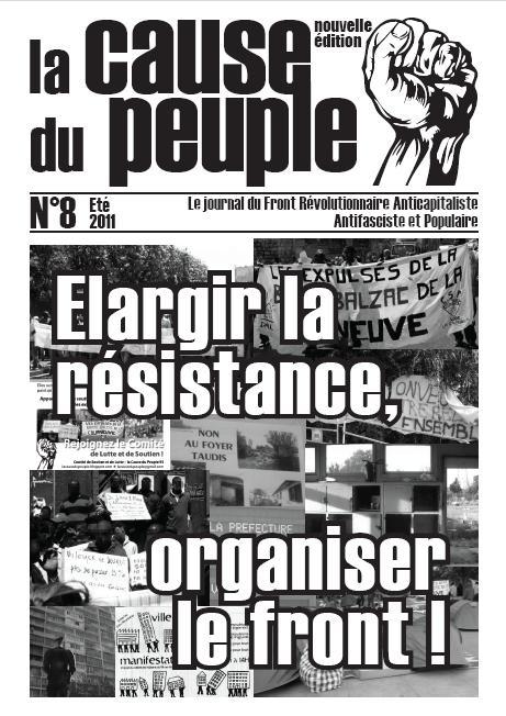 La cause du peuple (version PCMF) Cd8_UNE