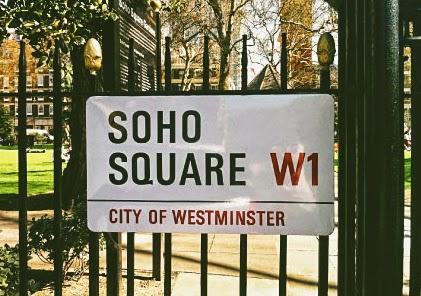 Soho square in W1