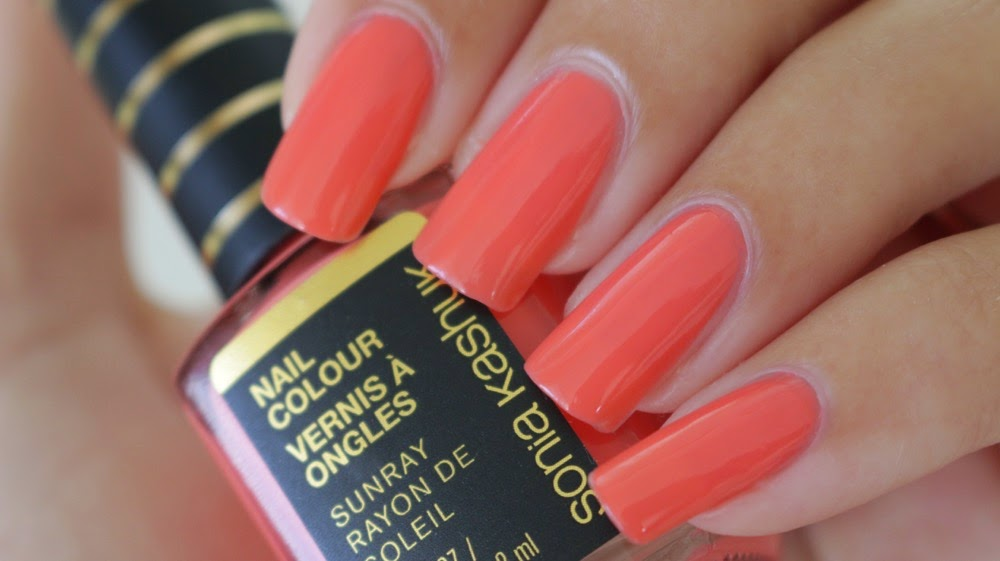 Sun Ray Sahara Sunset Nail Colour Swatches
