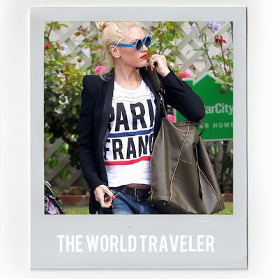 Street Style Blog, Street Style, Gwen Stefani, Graphic Tees, Paris France T-Shirt, Paris France Tee, Fashion Blogger, Style Blogger