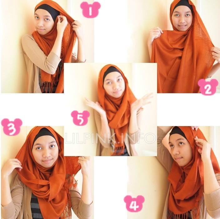 This is how i wear my shawl  Head Scarves How To Wear Different Types