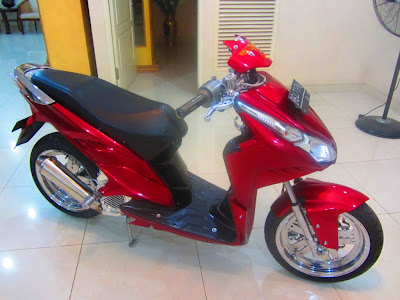 modifikasi motor vario techno, modifikasi vario cbs, honda vario modifikasi