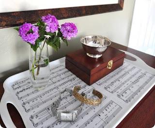 Reciclatex Bandeja Musical para San Valentín
