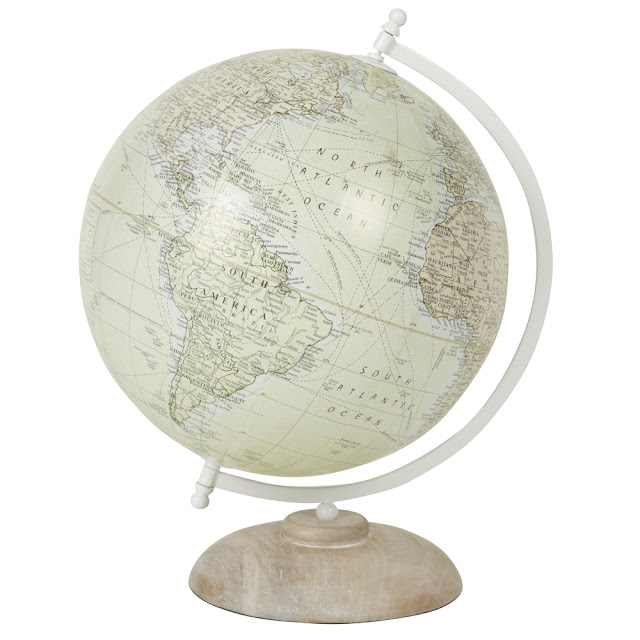 vintage look new globe