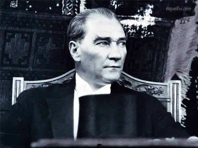Beni övme sözlerini bırakınız; gelecek için neler yapacağız, onları söyleyin! -M. Kemal Atatürk