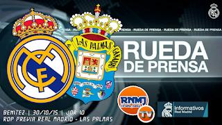 Rueda de prensa Real Madrid Las Palmas Rafa Benítez
