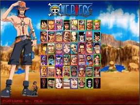 Download Game One Piece Colloseum Mugen (PC/ENG)