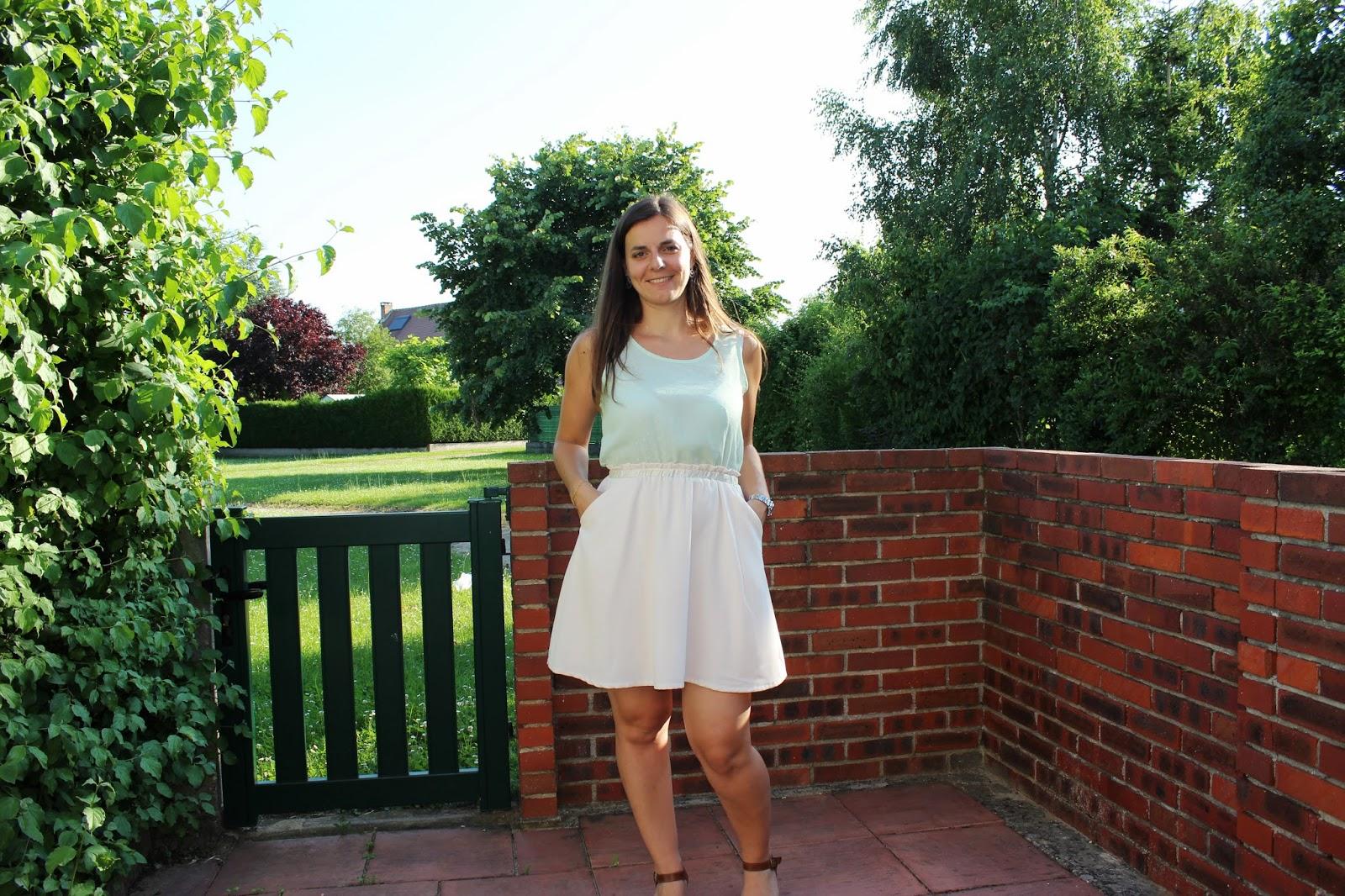 robe bicolore suncoo