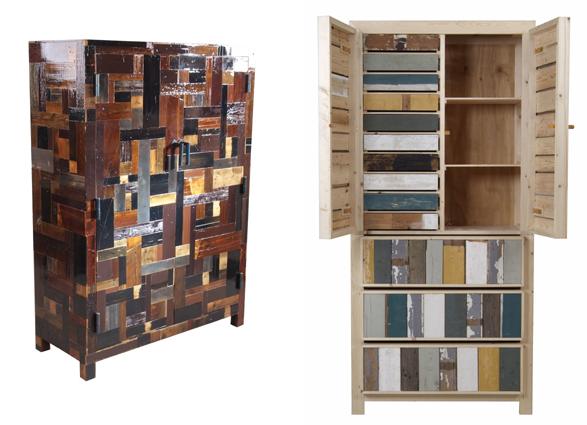 Muebles gratis con palets arquitectura - Reciclaje de palets de madera ...