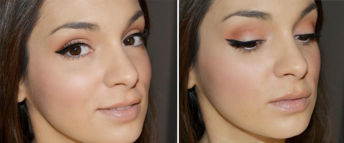 maquillaje sencillo y elegante