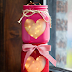 Bottles Decorated With Hearts Diy Steps