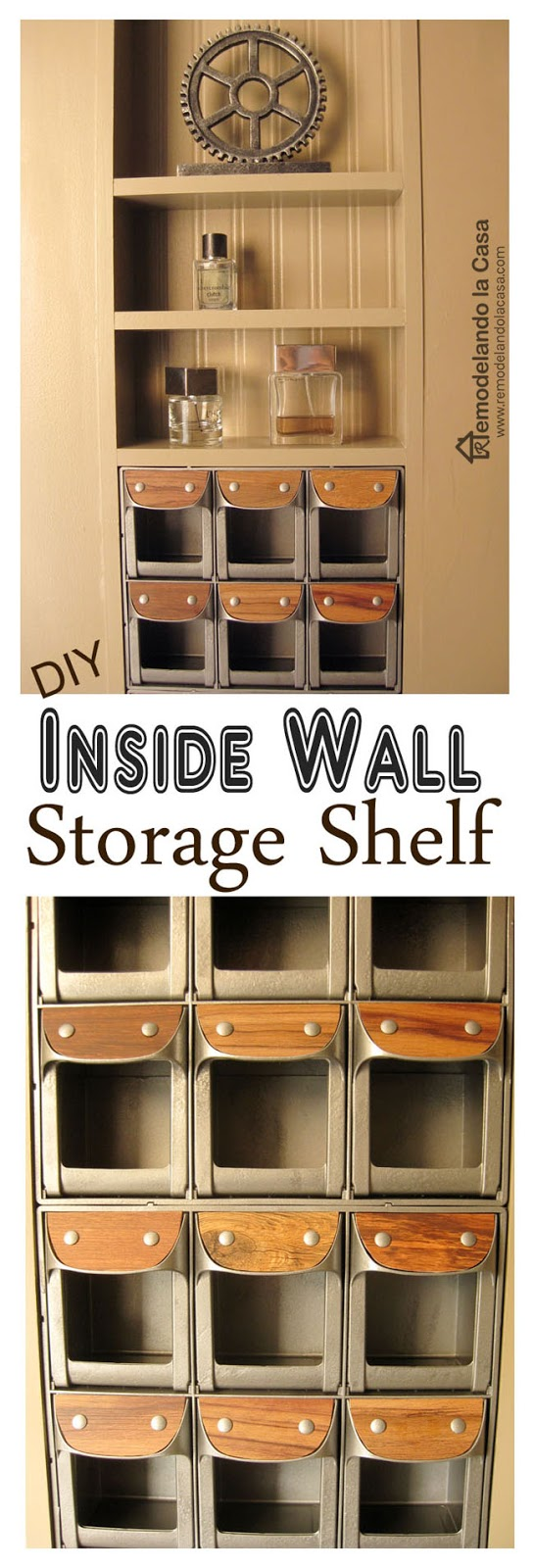 Remodelando la casa diy between the studs shelf closet stay tuned for more about this closet amipublicfo Images