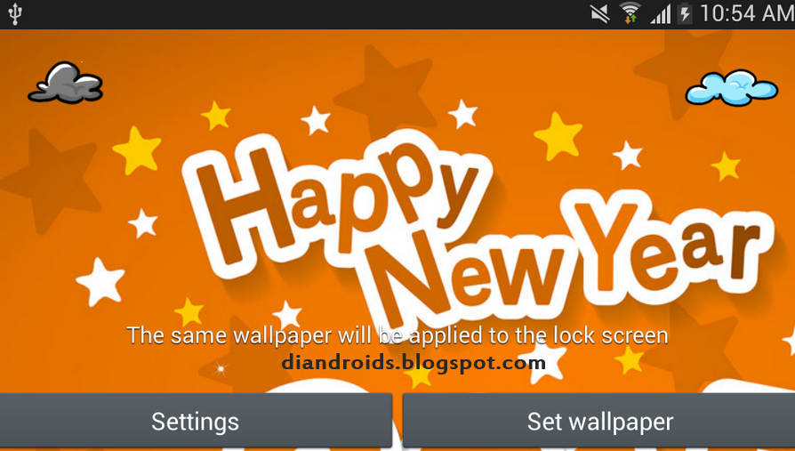 live wallpaper happy new year 2015 android