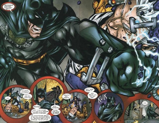 As cinco maiores batalhas do Batman 8