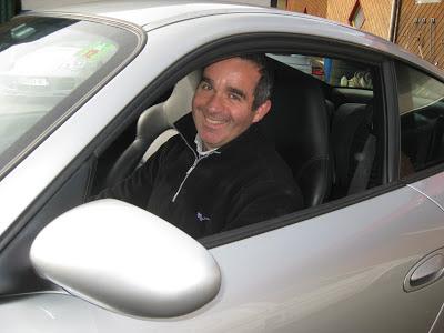 Martin Scart au volant de ma 911