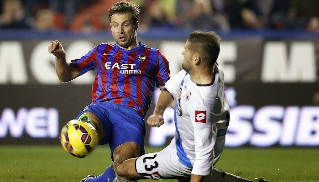 Deportivo La Coruña vs Levante en vivo