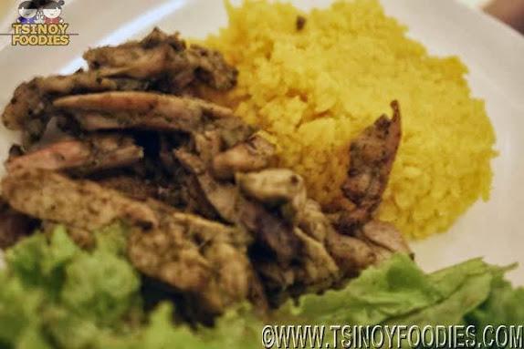 pollo asada platter