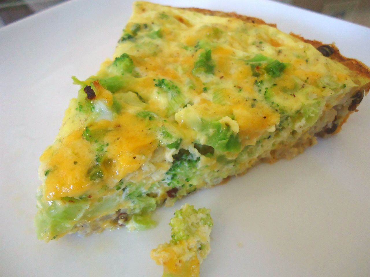 The Beachside Baker: Broccoli & Cheddar Quiche with a Brown ..