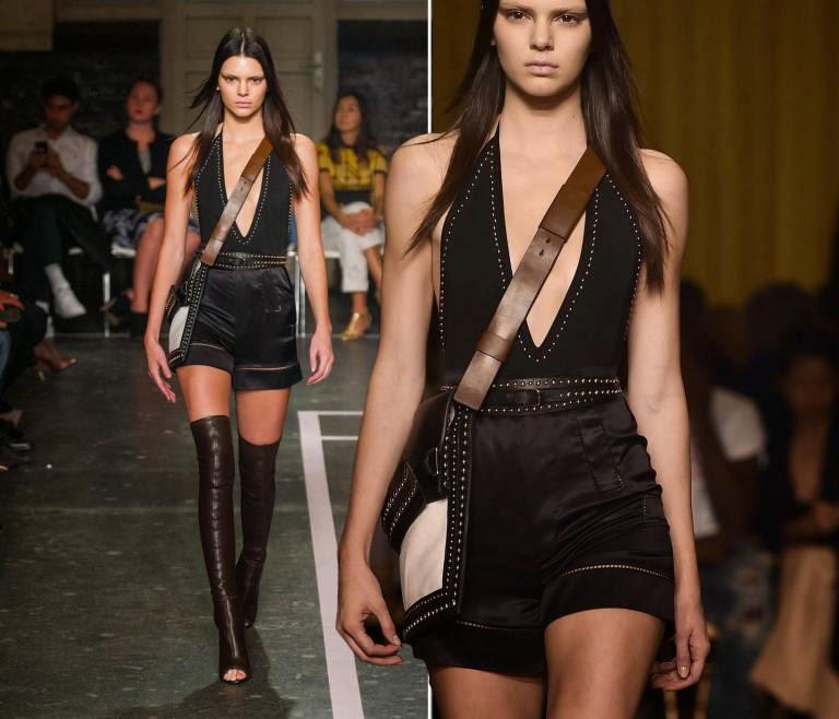 Kendall Jenner Givenchy Runway Paris Fashion Week