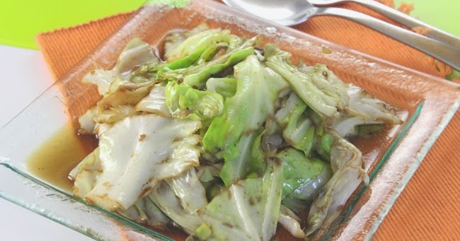 Stir fried cabbage with fish sauce for Fish sauce stir fry