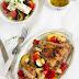 Kurczak pieczony z warzywami w greckim stylu