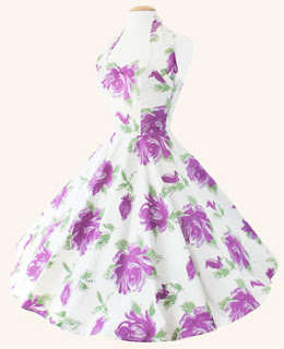 Halterneck Circle Dress Victory Rose
