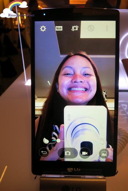 LG G4 front camera