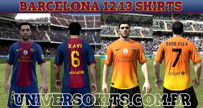 barcelona 12 13 Camisas universokits Mateus guedes FIFA 12: Uniforme do Barcelona 12/13