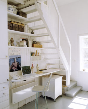 Escritorio Debajo De Las Escaleras Fotos De Oficinas Y Escritorios