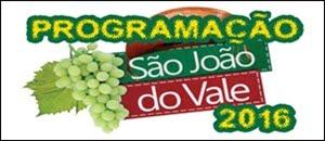 PROGRAMAÇÃO DO SÃO JOÃO DE PETROLINA