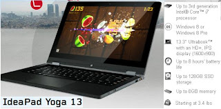 Lenovo IdeaPad Yoga price in India photo