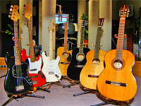 Type of Acoustic and Electric Guitars