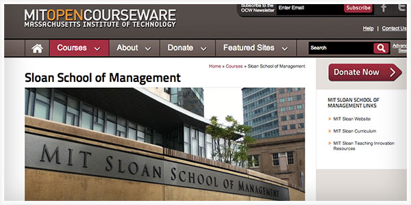 berkeley university opencourseware Opencourseware (ocw) are course lessons created at universities and  published for free via  reinforced by the launch of similar projects at yale, utah  state university, the university of michigan, and the university of california  berkeley.