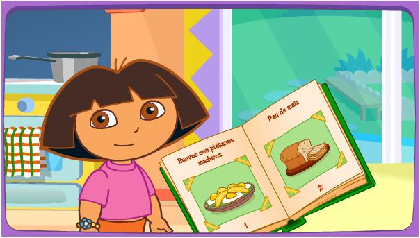 Little einsteins - Dora la exploradora cocina ...