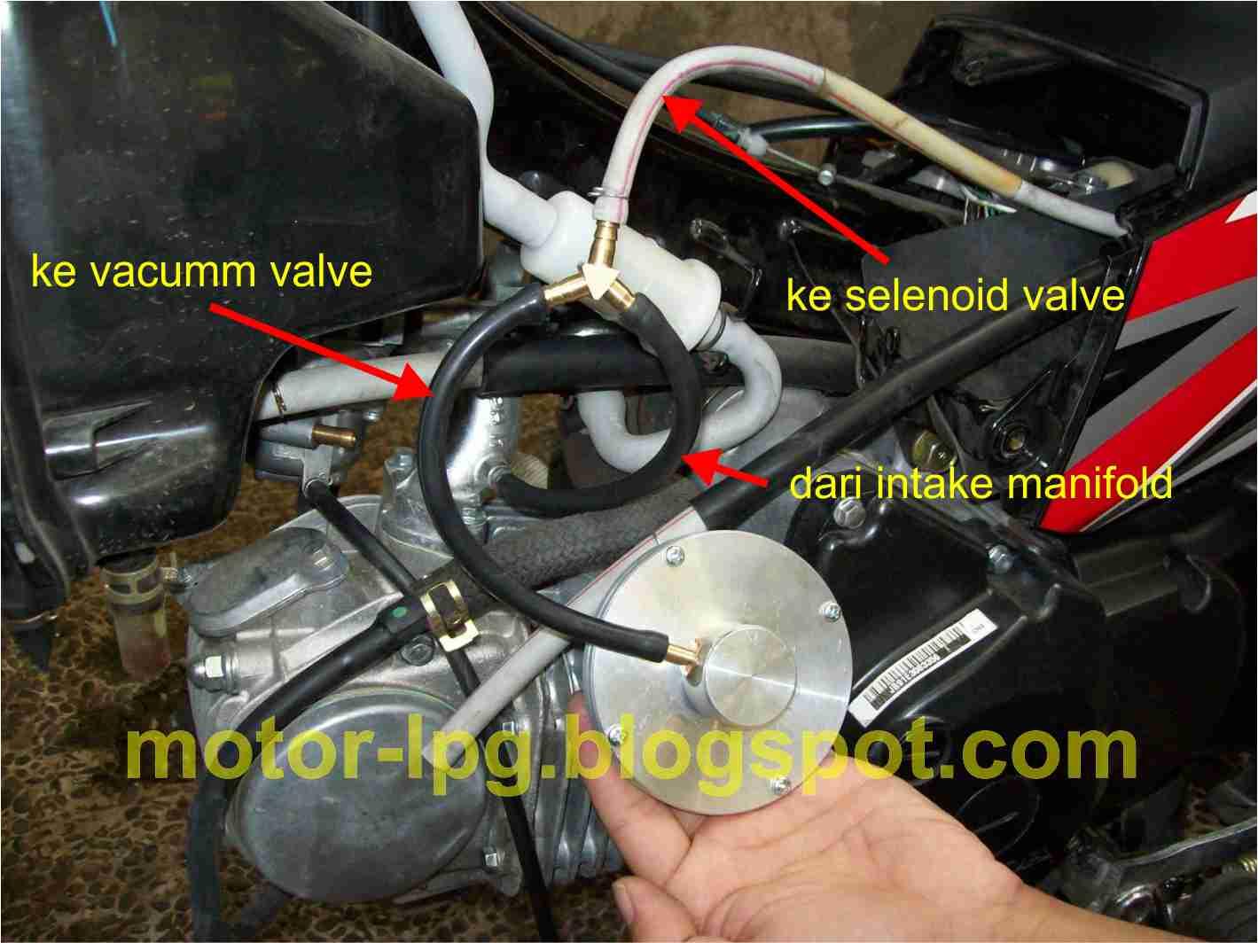 Konverter Kit LPG untuk Sepeda Motor
