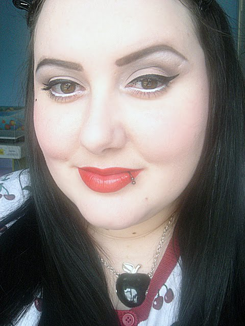 vintage pinup makeup. 2011 vintage pinup makeup.