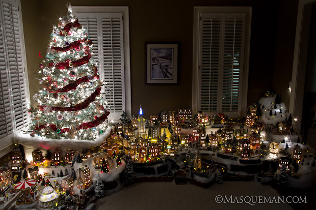 department 56 christmas village in the city