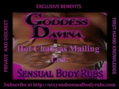 Ebony Sensual Massage and Body Rubs