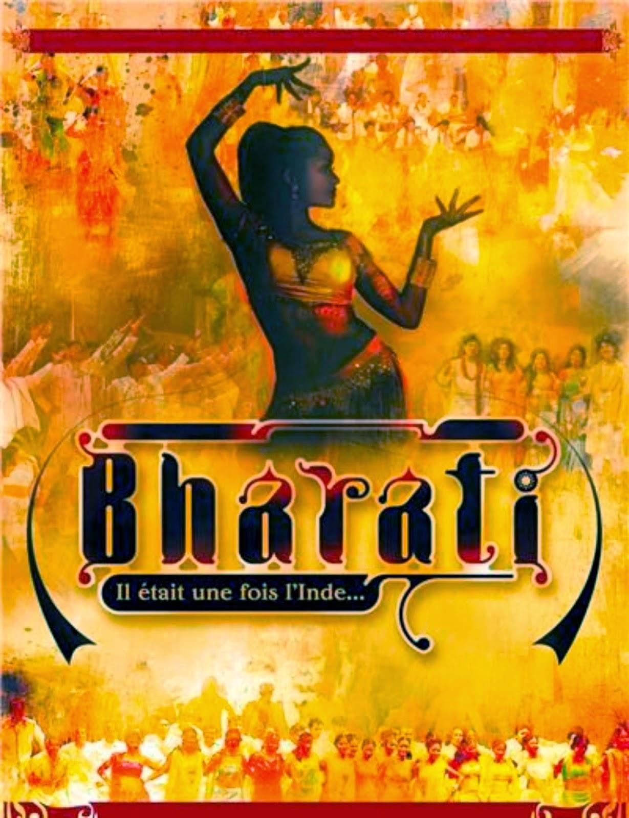 Affiche de la comédie musicale Bharati, danse bollywood