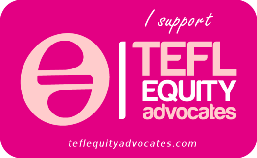 I support TEFL EQUITY advocates