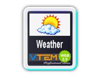 VTEM Weather v1 - VTEM Joomla Extensions
