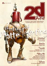 2DArtist Magazine Issue 008 August 2006