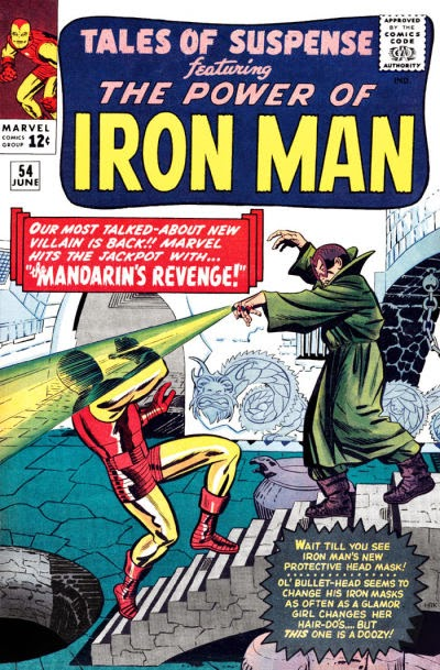 Tales of Suspense #54, Iron Man v the Mandarin