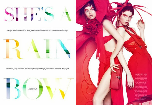 Harper´s Bazaar Australia December 2013