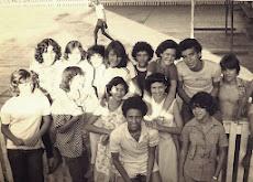 Jovens nos anos 70 no Colégio Estadual