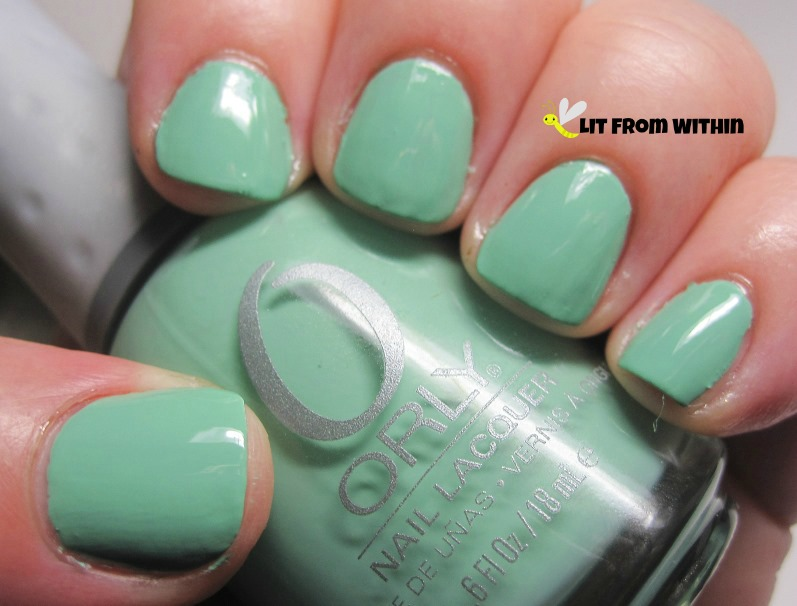 Orly Ancient Jade - lovely, slightly dusty jade green