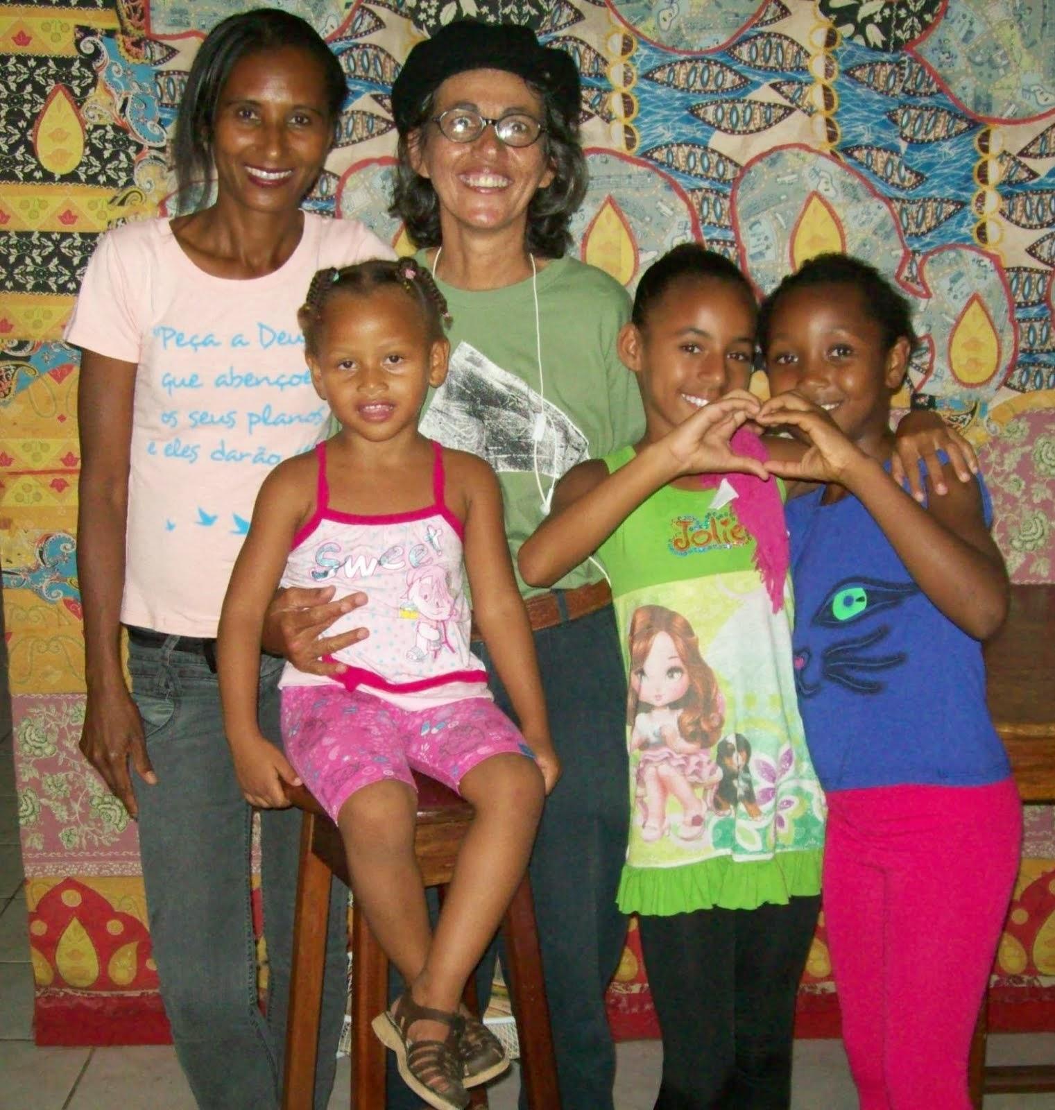 Família de ouvintes-leitoras do Alacazum