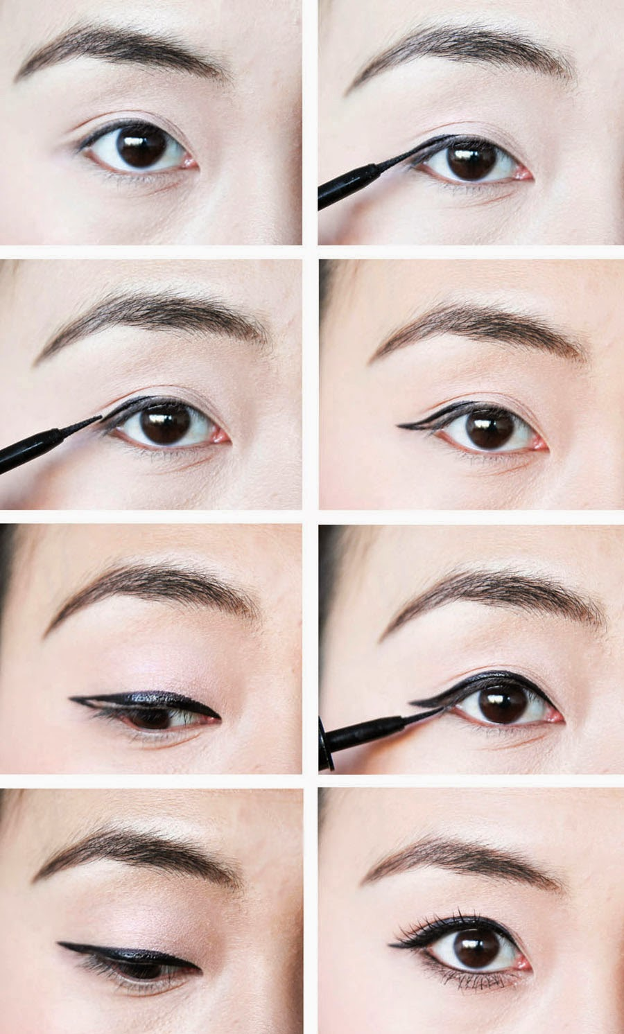"""""""asian Eyeliner Tutorial"""