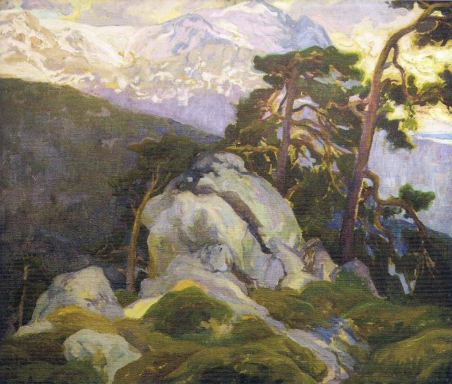 Paisaje de alta Montaña, Francisco Pons Arnau. Guarramas, sierra de Madrid